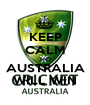 KEEP CALM AND AUSTRALIA WILL WIN - Personalised Poster A1 size