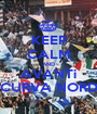 KEEP CALM AND AVANTi CURVA NORD - Personalised Poster A1 size