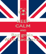 KEEP CALM AND Bag goals  With Lacazette  - Personalised Poster A1 size