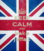 KEEP CALM AND bake jaffa's - Personalised Poster A1 size