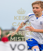 KEEP CALM AND BARTEK MISTRZ - Personalised Poster A1 size