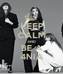 KEEP CALM AND BE A 4NIA - Personalised Poster A1 size