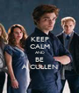 KEEP CALM AND BE A CULLEN - Personalised Poster A1 size