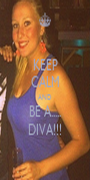 KEEP CALM AND BE A..... DIVA!!! - Personalised Poster A1 size