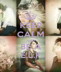 KEEP CALM AND BE A E.L.F - Personalised Poster A1 size