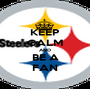 KEEP CALM AND BE A FAN - Personalised Poster A1 size