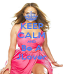 KEEP CALM AND Be A JLover - Personalised Poster A1 size