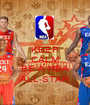 KEEP CALM AND BE A NBA ALL-STAR - Personalised Poster A1 size
