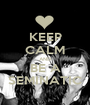 KEEP CALM AND BE A SEMINATIC - Personalised Poster A1 size