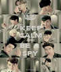 KEEP CALM AND BE A  SPY - Personalised Poster A1 size