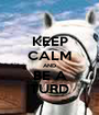 KEEP CALM AND BE A TURD - Personalised Poster A1 size