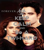 KEEP CALM AND Be A TWI-HARD - Personalised Poster A1 size