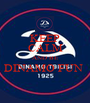 KEEP CALM AND BE DINAMO FUN   - Personalised Poster A1 size