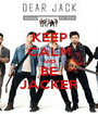 KEEP CALM AND BE JACKER - Personalised Poster A1 size