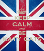 KEEP CALM AND BE KATY CATS - Personalised Poster A1 size