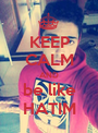 KEEP CALM AND be like HATIM - Personalised Poster A1 size