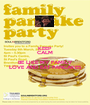 KEEP CALM AND BE LIKE MY FAMILY LOVE AND EAT PANCAKES - Personalised Poster A1 size
