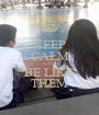 KEEP CALM AND BE LIKE THEM - Personalised Poster A1 size