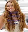 KEEP CALM AND Be Miley Cyrus - Personalised Poster A1 size