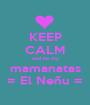 KEEP CALM and be my mamanatas = El Neñu = - Personalised Poster A1 size