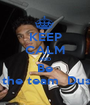 KEEP CALM AND Be On the team  Dustin  - Personalised Poster A1 size