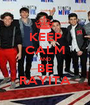 KEEP CALM AND BE RAYITA - Personalised Poster A1 size