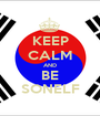 KEEP CALM AND BE SONELF - Personalised Poster A1 size