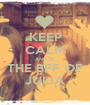 KEEP CALM AND BE THE BFF OF JÚLIA - Personalised Poster A1 size