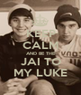 KEEP CALM AND BE THE JAI TO MY LUKE - Personalised Poster A1 size