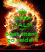 KEEP CALM AND beat titans  go raiders - Personalised Poster A1 size
