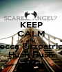 KEEP CALM AND Becca Fitzpatrick Hush Hush - Personalised Poster A1 size