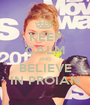 KEEP CALM AND BELIEVE IN PROIAN - Personalised Poster A1 size