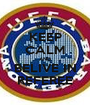 KEEP CALM AND BELIVE IN REFEREE - Personalised Poster A1 size