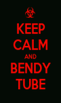 KEEP CALM AND BENDY TUBE - Personalised Poster A1 size