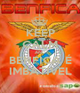 KEEP CALM AND BENFICA É IMBATIVEL - Personalised Poster A1 size