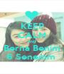 KEEP CALM AND Berna Benim 6 Senemm  - Personalised Poster A1 size