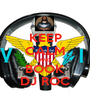 KEEP CALM AND BOOK DJ ROC - Personalised Poster A1 size