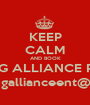 KEEP CALM AND BOOK YOUNG ALLIANCE PHOTO www.youngallianceent@Gmail.com - Personalised Poster A1 size
