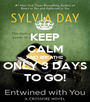 KEEP CALM AND BREATHE ONLY 3 DAYS TO GO! - Personalised Poster A1 size