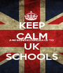 KEEP CALM AND BRING BOXING BACK TO UK SCHOOLS - Personalised Poster A1 size