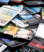 KEEP CALM AND BUY PHONES AT MOBI NP - Personalised Poster A1 size