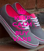 KEEP CALM AND BUY VANS - Personalised Poster A1 size