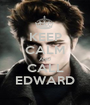 KEEP CALM AND CALL EDWARD - Personalised Poster A1 size