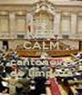 KEEP CALM AND cantoneiro de limpeza - Personalised Poster A1 size