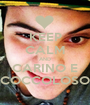 KEEP CALM AND CARINO E COCCOLOSO - Personalised Poster A1 size
