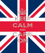 KEEP CALM AND CARRi ON - Personalised Poster A1 size