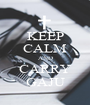 KEEP CALM AND CARRY GAJU - Personalised Poster A1 size
