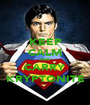 KEEP CALM AND CARRY KRYPTONITE - Personalised Poster A1 size