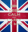 KEEP CALM AND CARRY ON bbm - Personalised Poster A1 size
