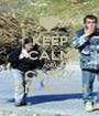KEEP CALM AND CARRY ON  BITCH - Personalised Poster A1 size